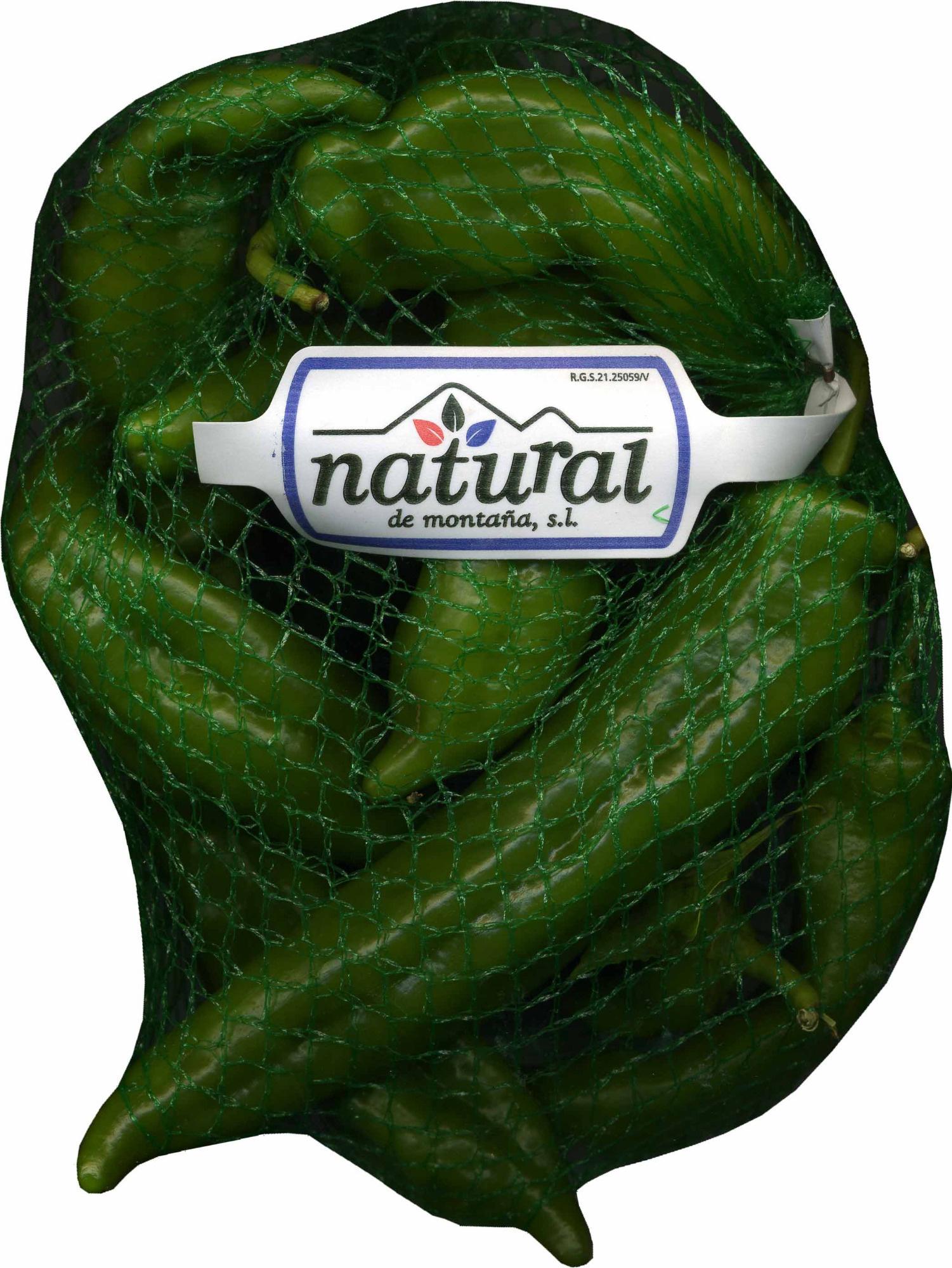 Pimientos verdes - Producto