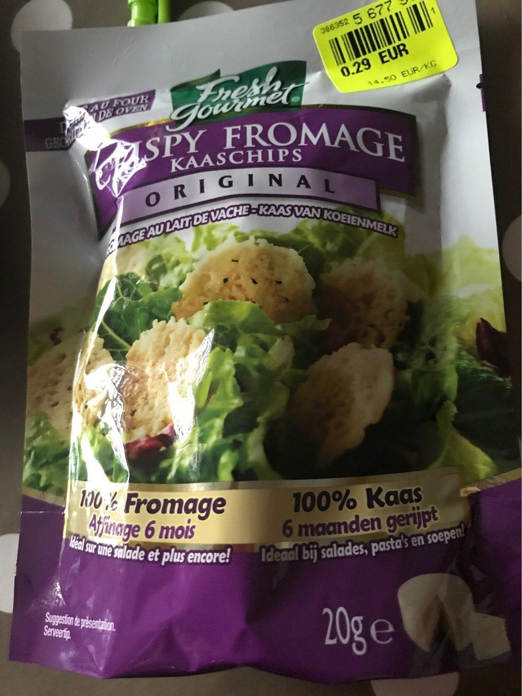 Crispy fromage - Produit