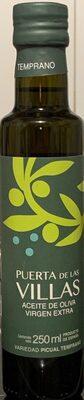 Aceite de oliva virgen extra temprano - Product - es
