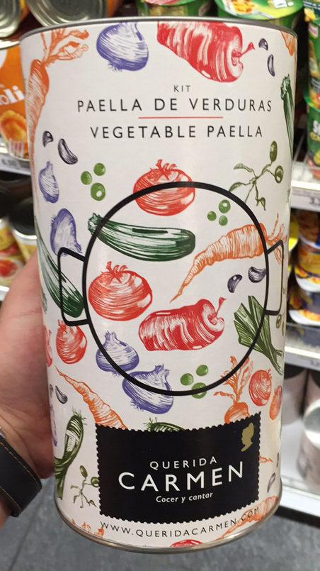 Querida Carmen Paëll de légumes - Produit