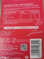 Edulcorante - Voedingswaarden