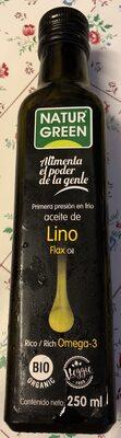 Aceite de lino - Producto