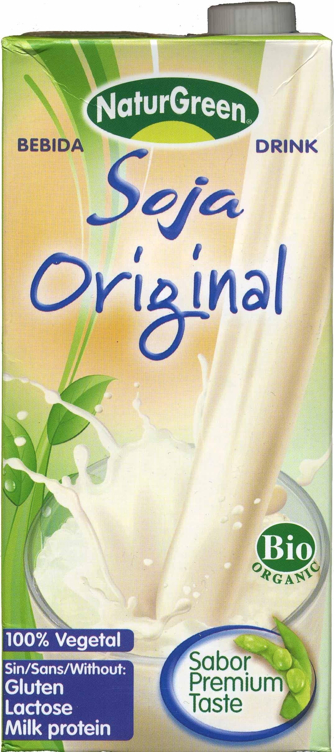 Bebida de soja Original - Product - es