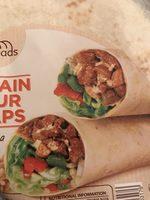 Delibreads Plain Flour Wraps X10 - Ingrédients