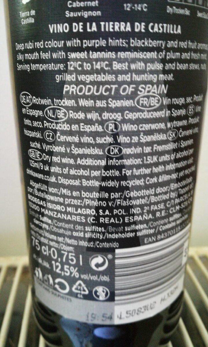 Cabernet sauvignon - Ingrediënten
