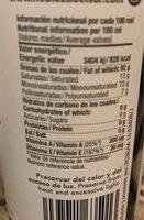 Centenarium premium - Nutrition facts