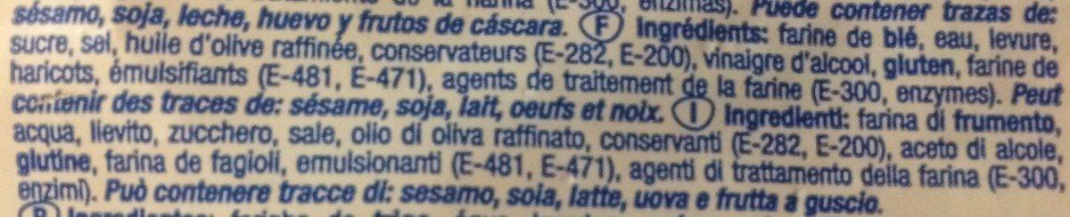 Pan de molde - Ingrédients - fr