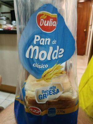 Pam de molde clásico