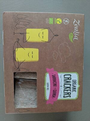 ORGANIC CRACKERS SARRACENO Y QUINOA - Produkt