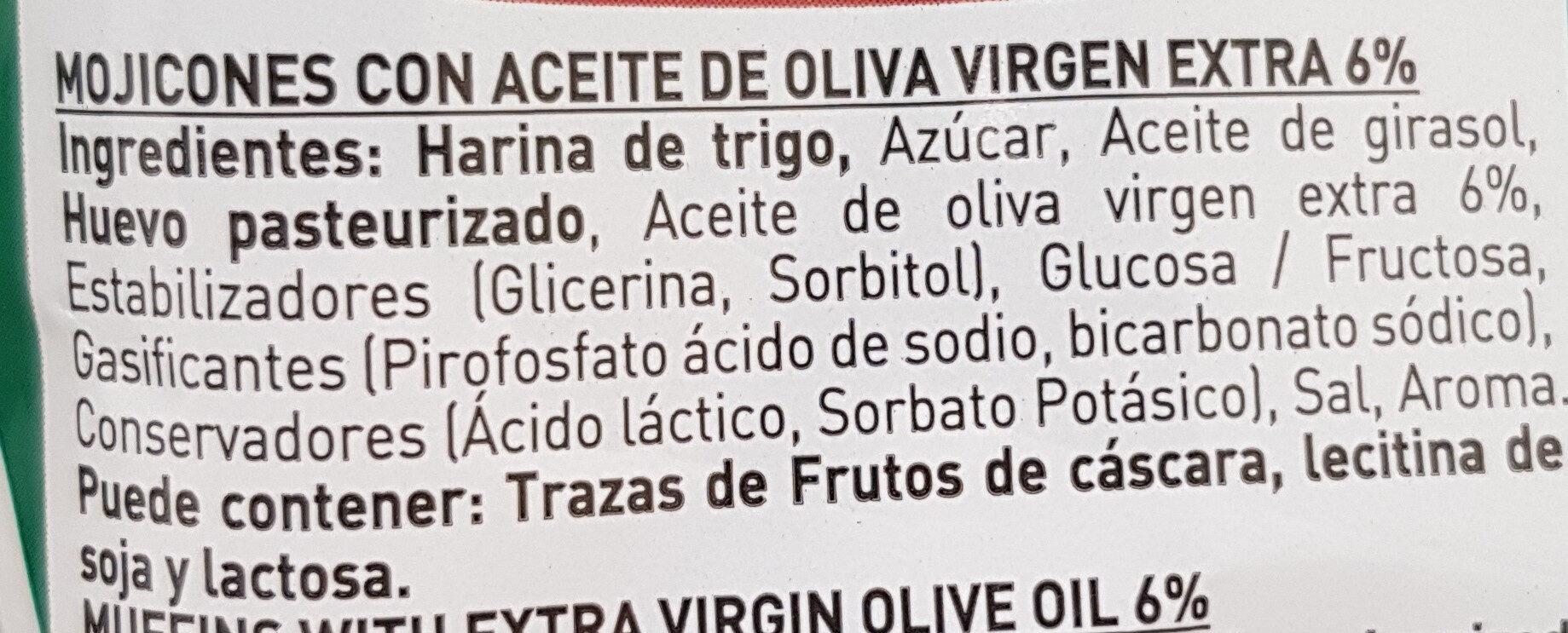Mojicones - Ingredients