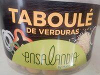 Taboulé de verduras - Producto - es