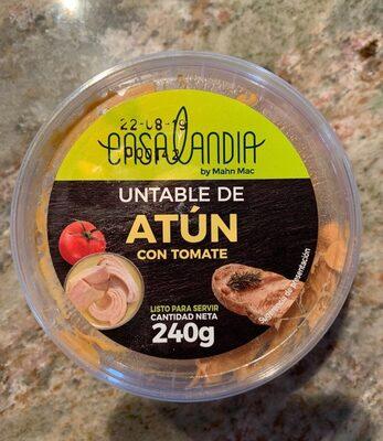 Untable de Atún con tomate - Producto - es