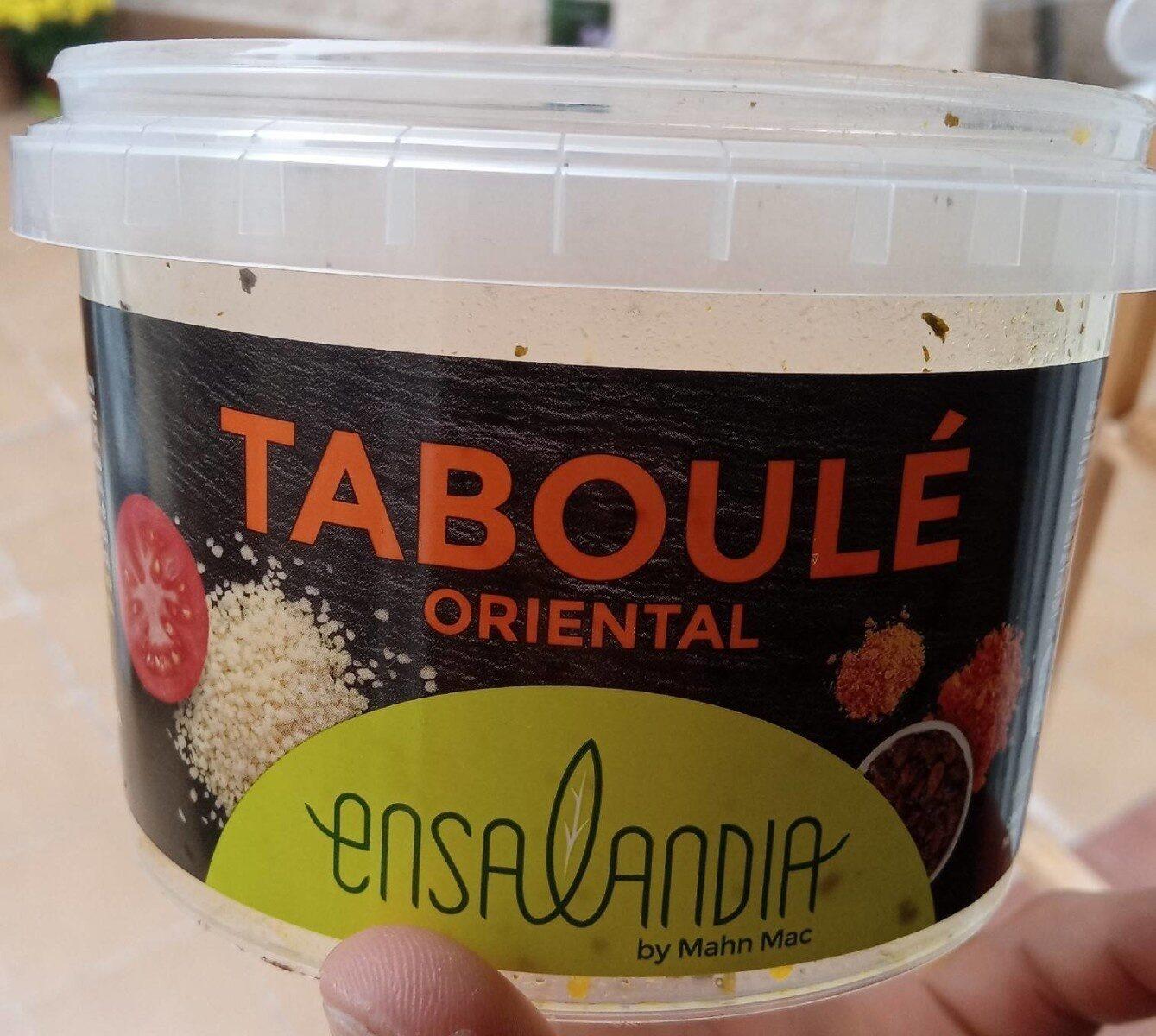 Taboulé oriental - Producto - es