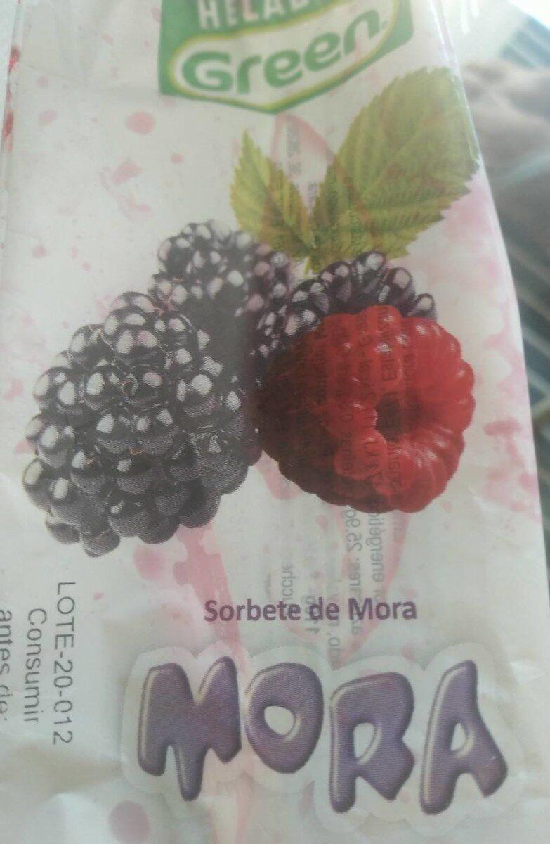 Sorbete mora - Produit - es