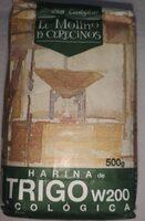 Harina de trigo ecológica w200 - Producto - es