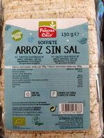 Tortitas ecologicas de arroz integral sin sal - Produit