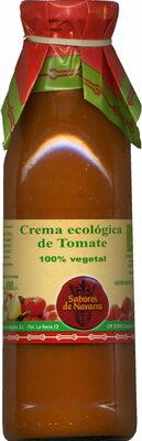 Crema ecológica de tomate