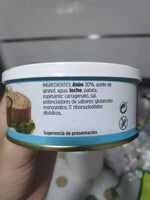 Paté de atún - Ingredients - es
