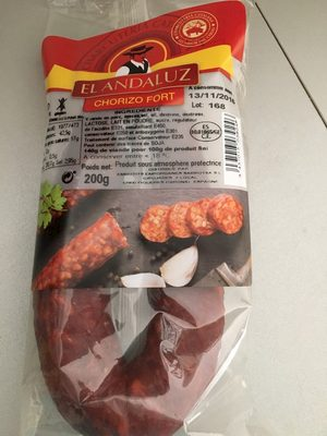 Chorizo fort - Product - fr