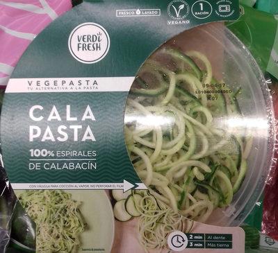 Cala Pasta 100% espirales de calabacín - Producto