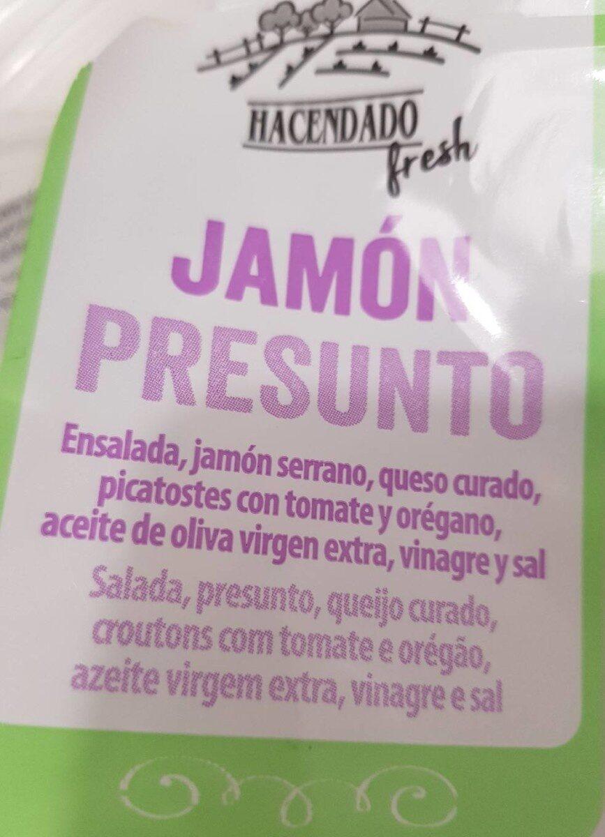 Ensalada de jamón serrano - Product - es