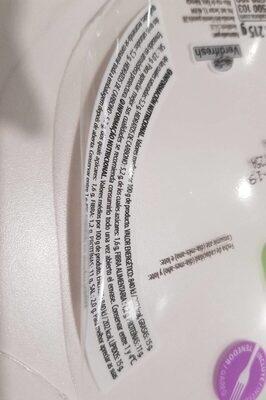 Ensalada de jamón serrano - Nutrition facts - es