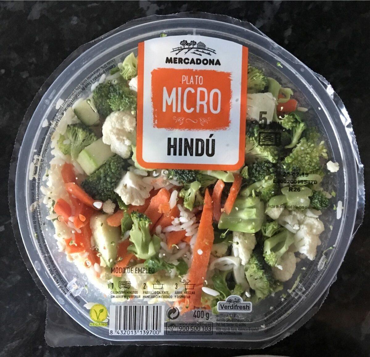 Plato micro HINDÚ - Producte - es