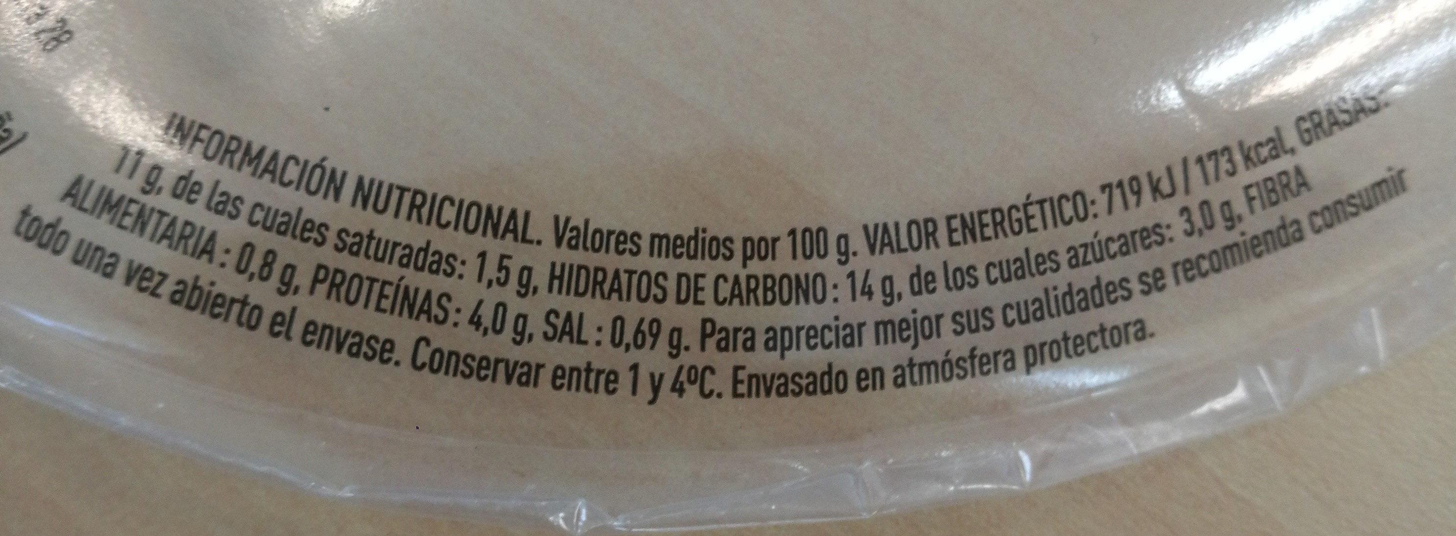 Ensalada completa de pasta - Nutrition facts
