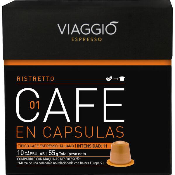 Café En Capsulas Ristretto 01 - Producto
