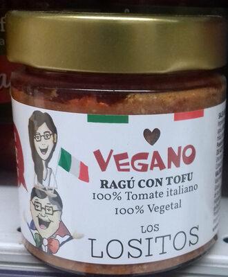Ragú con Tofu Vegano - Producte