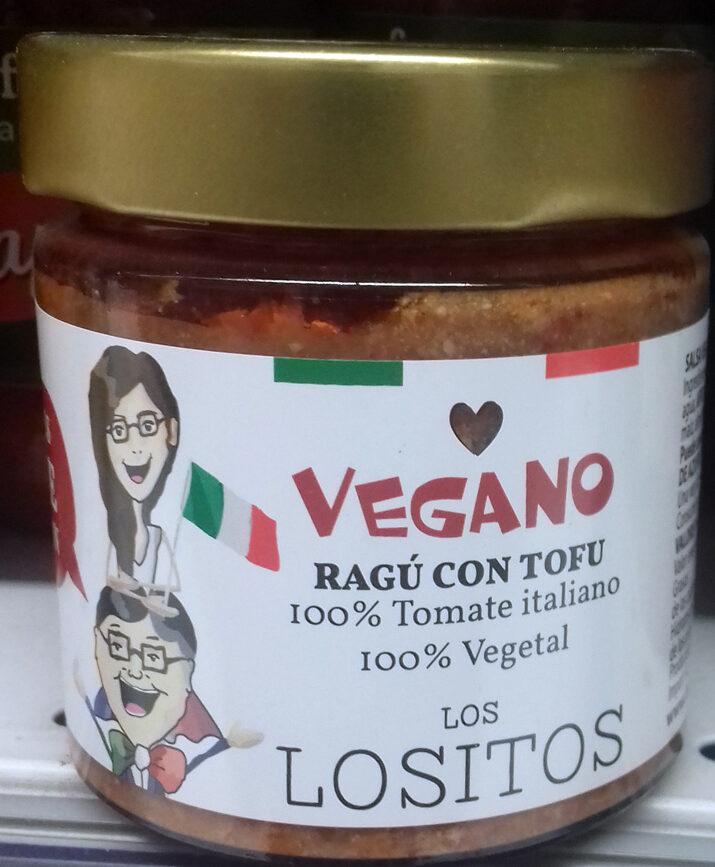 Ragú con Tofu Vegano - Producto - es