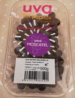 Uva negra sin semilla - Producto - es