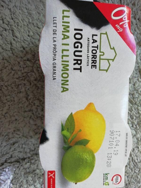 IOGURT LLIMA I LLIMONA - Producto