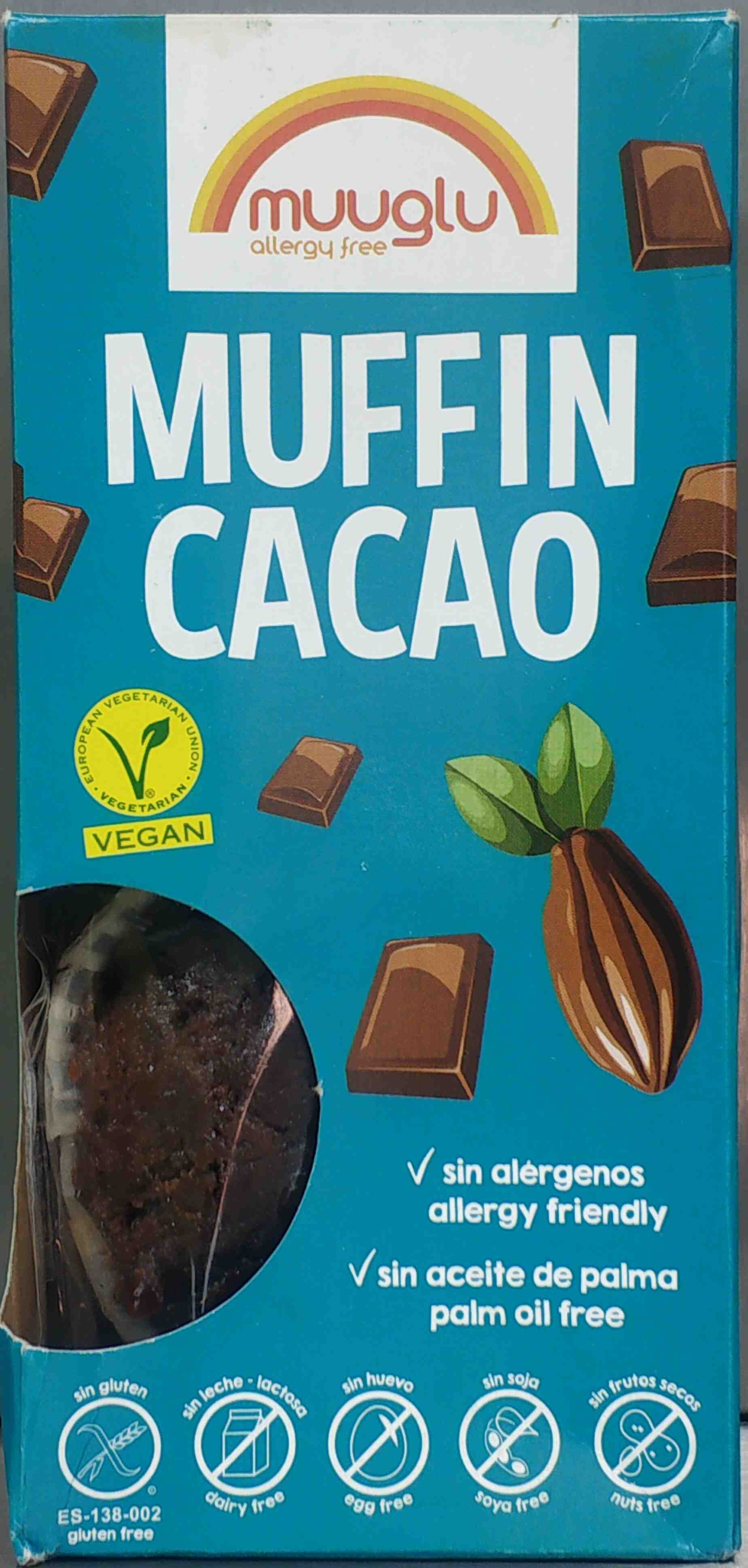 Muffin Cacao - Product - en