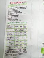 Manzana maçã - Informations nutritionnelles
