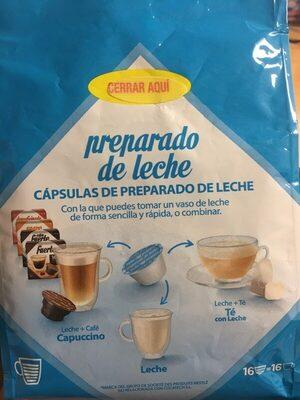 Cápsulas de preparado de leche