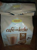 Cápsulas de café con leche - Producte