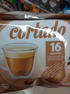 Cápsulas de café cortado