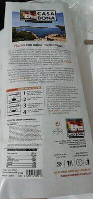 pizza sabor mediterráneo - Product - es
