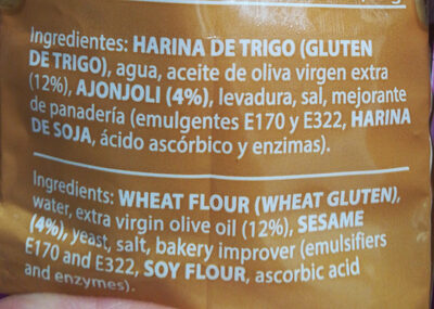 Regaña Gourmet - Ingredientes - es