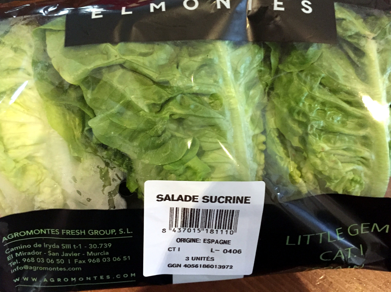 Sucrine - Product