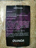 Quinoa premium - Ingrédients - es