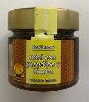 Miel con propóleo y limón - Producto - es