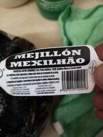 Mejillón - Nutrition facts