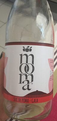 Mooma jus pomme gala - Product - fr