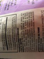 Snapea Crisps Pimienta Negra Al Toque De Romero 85GR - Ingredientes - es