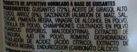 Snapea Crisps - Ingredients - es