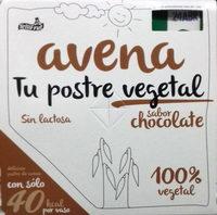 Postre de avena sabor chocolate - Producte