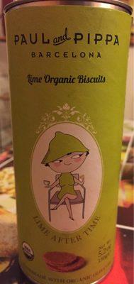 Biscuits Bio Au Citron Vert - Producte