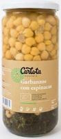 Garbanzos con Espinacas - Producto